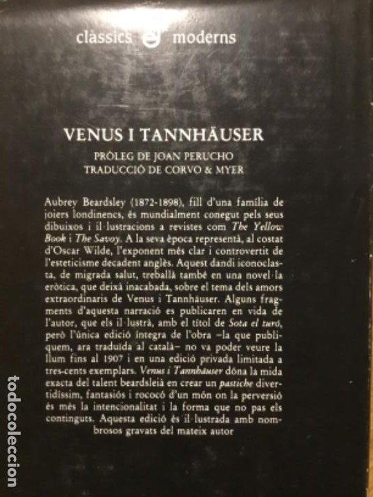 Libros antiguos: Aubrey Beardsley. Venus i Tannhaüser. - Foto 2 - 192903727