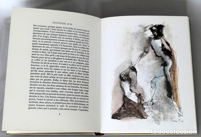 Libros antiguos: PAULINE RÉAGE LÉONOR FINI HISTOIRE DO 1968 muy ilustrado erotismo literatura erótica edición numera - Foto 6 - 195415905