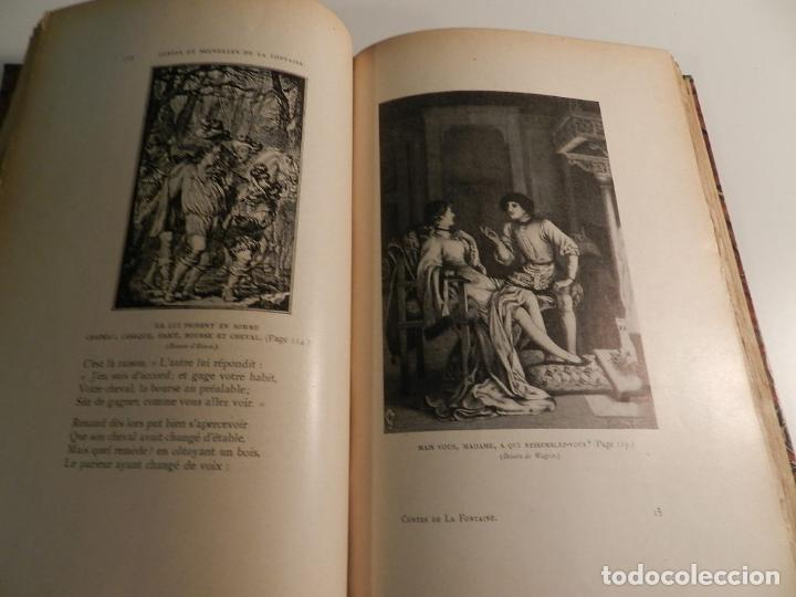 Libros antiguos: JEAN DE LA FONTAINE, OUDRY, LANCRET, BOUCHER, FRAGONARD (ILLUSTRATEURS) - 1903/1904 ERÓTICA EROTISMO - Foto 3 - 196123296