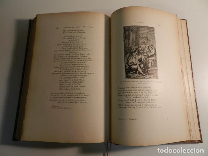 Libros antiguos: JEAN DE LA FONTAINE, OUDRY, LANCRET, BOUCHER, FRAGONARD (ILLUSTRATEURS) - 1903/1904 ERÓTICA EROTISMO - Foto 6 - 196123296
