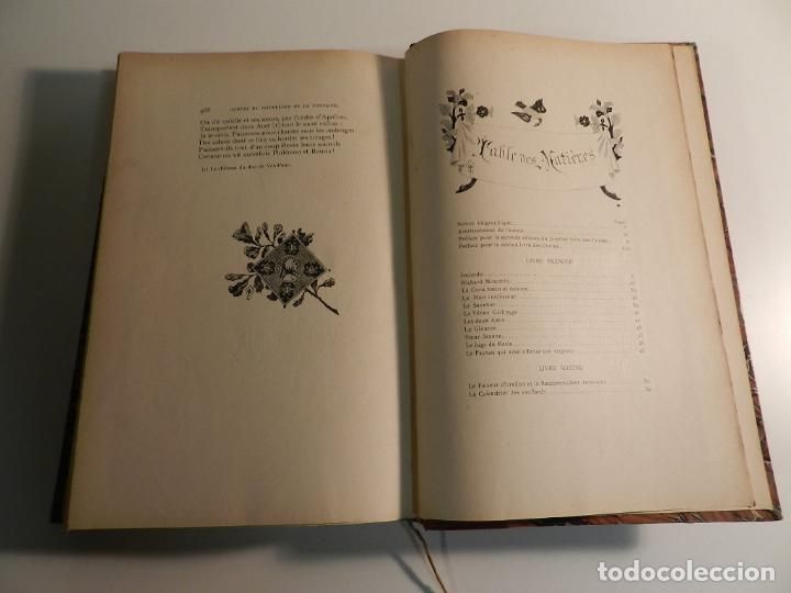 Libros antiguos: JEAN DE LA FONTAINE, OUDRY, LANCRET, BOUCHER, FRAGONARD (ILLUSTRATEURS) - 1903/1904 ERÓTICA EROTISMO - Foto 7 - 196123296