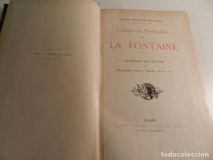 JEAN DE LA FONTAINE, OUDRY, LANCRET, BOUCHER, FRAGONARD (ILLUSTRATEURS) - 1903/1904 ERÓTICA EROTISMO (Libros antiguos (hasta 1936), raros y curiosos - Literatura - Narrativa - Erótica)