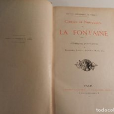 Libros antiguos: JEAN DE LA FONTAINE, OUDRY, LANCRET, BOUCHER, FRAGONARD (ILLUSTRATEURS) - 1903/1904 ERÓTICA EROTISMO. Lote 196123296