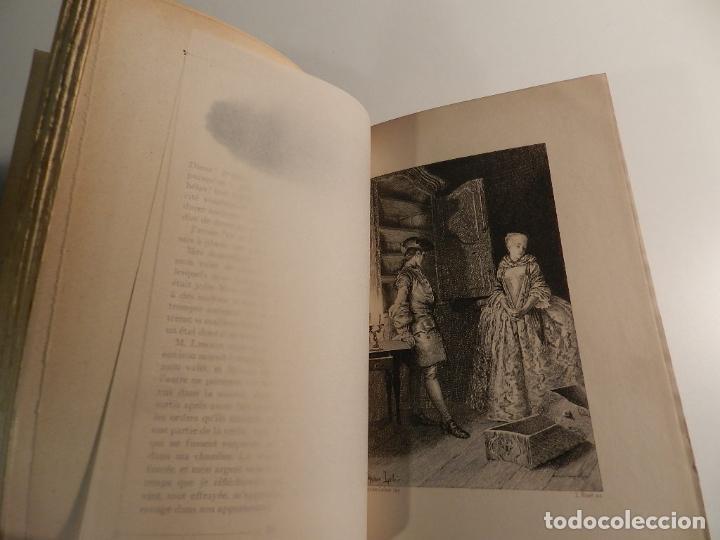 Libros antiguos: MANON LESCAUT LABBE PREVOST / ED J. TALLANDIER PARIS 1903/1904 - Foto 6 - 196123613