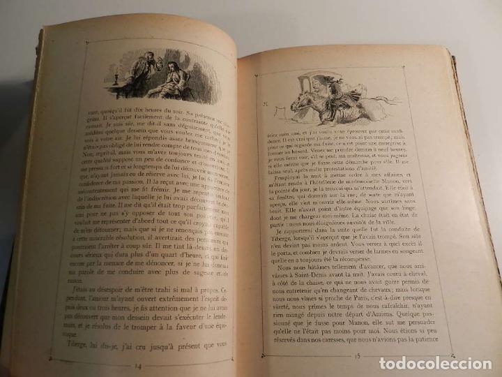 Libros antiguos: MANON LESCAUT LABBE PREVOST / ED J. TALLANDIER PARIS 1903/1904 - Foto 7 - 196123613