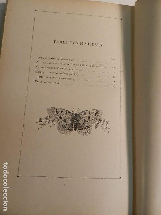 Libros antiguos: MANON LESCAUT LABBE PREVOST / ED J. TALLANDIER PARIS 1903/1904 - Foto 8 - 196123613