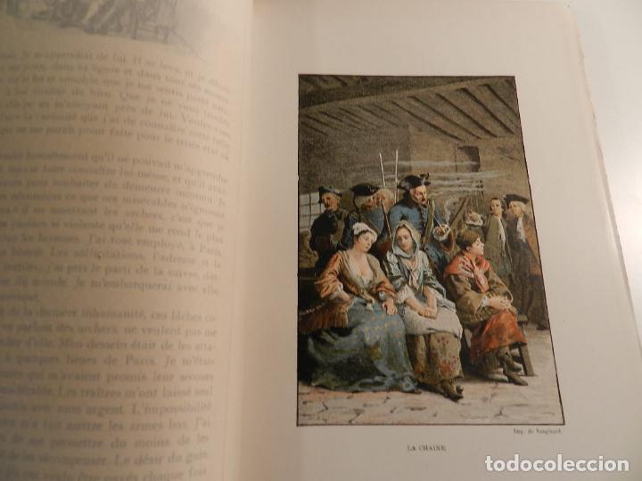 Libros antiguos: MANON LESCAUT LABBE PREVOST / ED J. TALLANDIER PARIS 1903/1904 - Foto 9 - 196123613