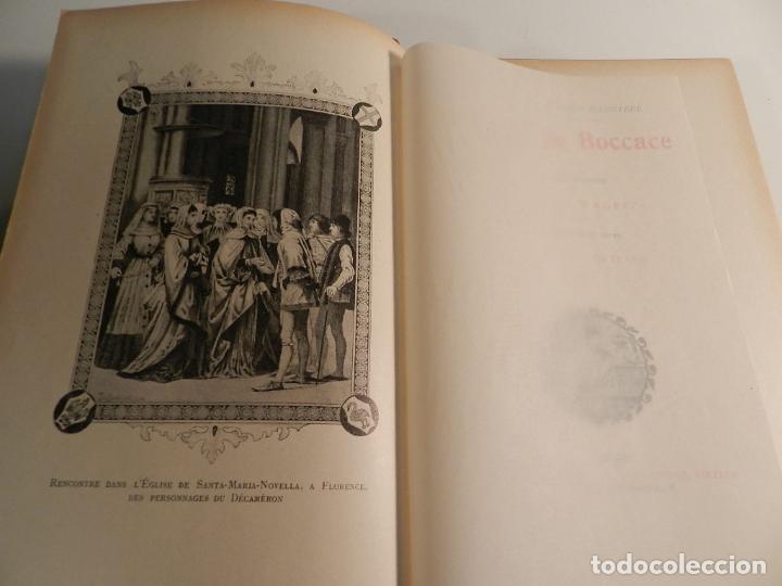 Libros antiguos: CONTES DE BOCCACE ILUSTRATIONS JACQUES WAGREZ / ED J. TALLANDIER PARIS 1903/1904 ERÓTICA EROTISMO - Foto 4 - 196124115