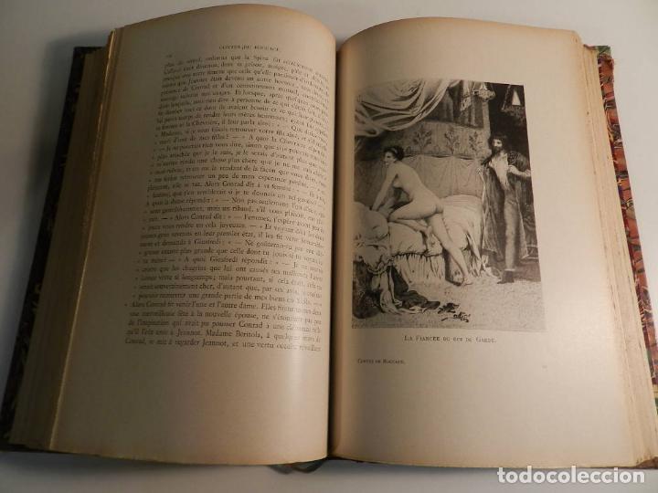 Libros antiguos: CONTES DE BOCCACE ILUSTRATIONS JACQUES WAGREZ / ED J. TALLANDIER PARIS 1903/1904 ERÓTICA EROTISMO - Foto 7 - 196124115
