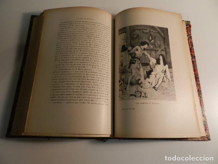 Libros antiguos: CONTES DE BOCCACE ILUSTRATIONS JACQUES WAGREZ / ED J. TALLANDIER PARIS 1903/1904 ERÓTICA EROTISMO - Foto 8 - 196124115