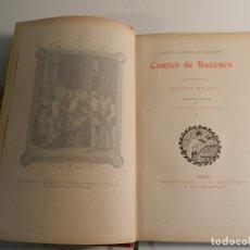 Libros antiguos: CONTES DE BOCCACE ILUSTRATIONS JACQUES WAGREZ / ED J. TALLANDIER PARIS 1903/1904 ERÓTICA EROTISMO. Lote 196124115