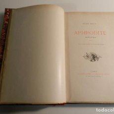 Libros antiguos: APHRODITE - LES MOURS ANTIQUES PIERRE LOUYS / ED J. TALLANDIER PARIS 1903/1904 ERÓTICA EROTISMO. Lote 196124448
