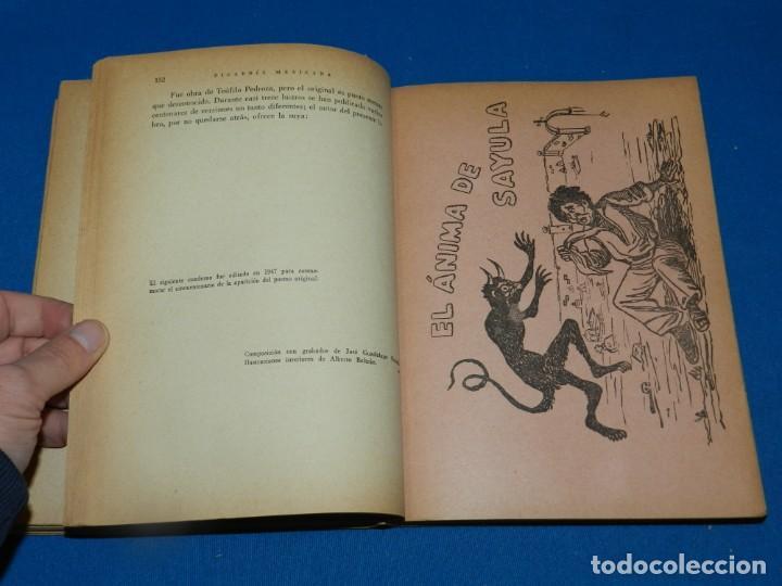 Libros antiguos: (MLIT) A JIMÉNEZ - PICARDÍA MEXICANA , LIBRO MEX EDITORIES 1960, 3 EDICIÓN, ILUSTRADO - Foto 4 - 197617308