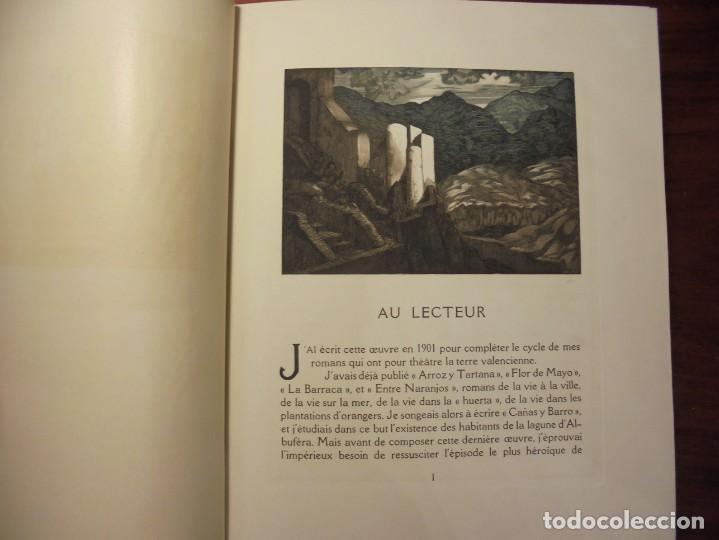Libros antiguos: BIBLIOFILIA. BLASCO IBAÑEZ. SONICA. EROTICA. EDICIÓN NUMERADA. 1928. - Foto 7 - 197867911