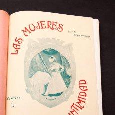 Libros antiguos: LAS MUJERES EN LA INTIMIDAD - EN EL MOMENTO DE ACOSTARSE - 1903. Lote 198623998