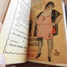 Libros antiguos: LA NOVELA DE HOY EDITORIAL ATLANTIDA Nº 310 299 289 306 260. Lote 198647270
