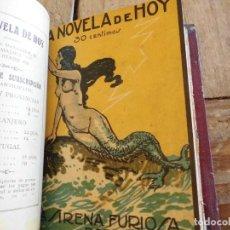 Libros antiguos: LA NOVELA DE HOY EDITORIAL ATLANTIDA 146 116 36 8 174. Lote 198647565