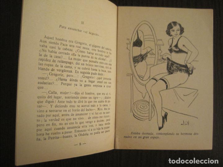 Libros antiguos: MEDIANOCHE-EL AMOR CAMPESINO-NUM·25-NOVELA EROTICA-VER FOTOS-(V-19.551) - Foto 3 - 201326048