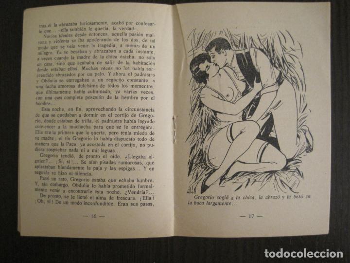 Libros antiguos: MEDIANOCHE-EL AMOR CAMPESINO-NUM·25-NOVELA EROTICA-VER FOTOS-(V-19.551) - Foto 4 - 201326048
