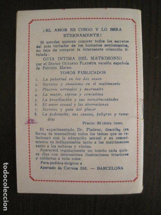 Libros antiguos: MEDIANOCHE-EL AMOR CAMPESINO-NUM·25-NOVELA EROTICA-VER FOTOS-(V-19.551) - Foto 7 - 201326048