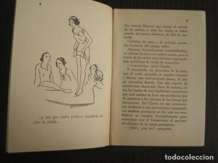 Libros antiguos: LA NOVELA EVA-EL CASO DE CLARITA-NUM·8-ILUSTRACIONES KIF-NOVELA EROTICA-VER FOTOS-(V-19.558) - Foto 3 - 201327211