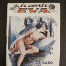 Libros antiguos: LA NOVELA EVA-EL CASO DE CLARITA-NUM·8-ILUSTRACIONES KIF-NOVELA EROTICA-VER FOTOS-(V-19.558). Lote 201327211