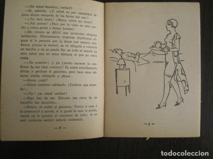 Libros antiguos: LA NOVELA PICARA-UN TRIO DE PROJIMAS-NUM·57-ILUSTRACIONES ARGUS-NOVELA EROTICA-VER FOTOS-(V-19.559) - Foto 4 - 201327365