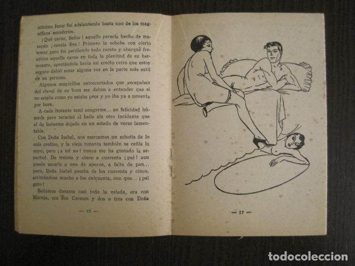 Libros antiguos: LA NOVELA PICARA-UN TRIO DE PROJIMAS-NUM·57-ILUSTRACIONES ARGUS-NOVELA EROTICA-VER FOTOS-(V-19.559) - Foto 5 - 201327365