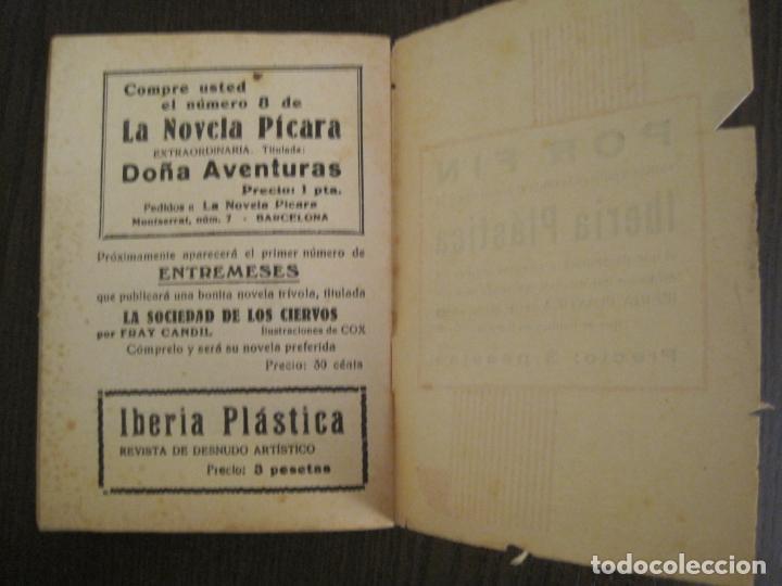 Libros antiguos: LA NOVELA PICARA-UN TRIO DE PROJIMAS-NUM·57-ILUSTRACIONES ARGUS-NOVELA EROTICA-VER FOTOS-(V-19.559) - Foto 7 - 201327365
