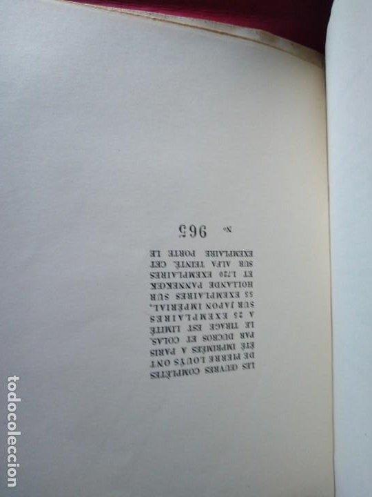Libros antiguos: EROTICA PIERRE LOUYS ARCHIPEL EDITIONS MONTAIGNE PARIS 1930 ED NUMERADA GRABADOS VER FOTOS - Foto 4 - 203028558