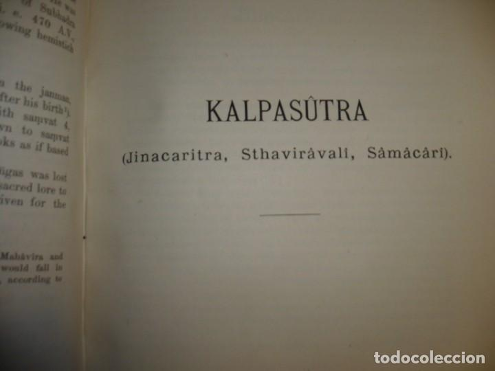 Libros antiguos: THE KALPASUTRA OF BHADRABAHU HERMANN JACOBI 1879 LEIPZIG - Foto 7 - 204103813