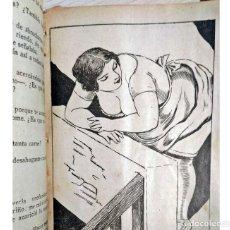 Libros antiguos: AÑOS 30. NOVELITA ESPAÑOLA CON IMÁGENES ERÓTICAS. EL AMA DEL CURA. Lote 204249496