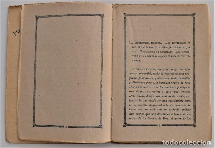 Libros antiguos: LA HIJA DE LA CORTESANA - EL CABALLERO AUDAZ - LA NOVELA DE NOCHE Nº 1 - 30 MARZO 1924 - PENAGOS - Foto 4 - 205282906