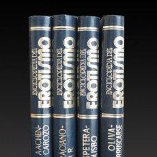 Libros antiguos: ENCICLOPEDIA DEL EROTISMO. CAMILO JOSE CELA. SEDMAY EDICIONES.4 TOMOS. 1976.. Lote 205793686