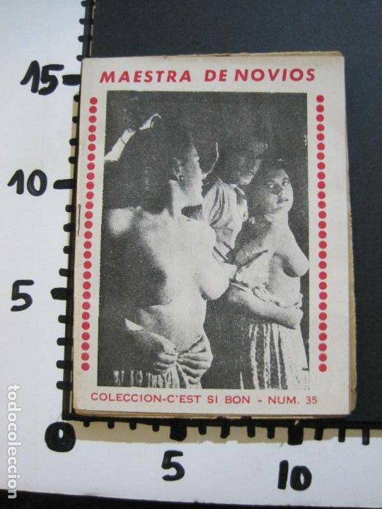 Libros antiguos: MAESTRA DE NOVIOS-NOVELA EROTICO CON FOTOS-COL·CEST SI BON-Nº 35-VER FOTOS-(V-20.259) - Foto 17 - 206157978