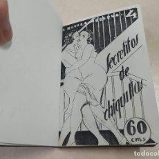 Libros antiguos: FACSÍMIL - SECRETITOS DE CHIQUILLAS - JUAN AMADOR - LA NOVELA MODERNA Nº 4. Lote 206263085