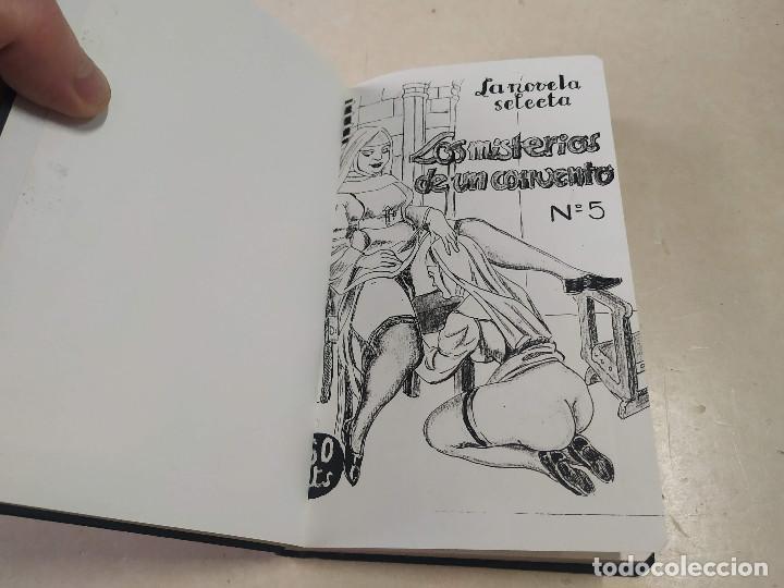 FACSÍMIL - LOS MISTERIOS DE UN CONVENTO - VÍCTOR RIPALDA - LA NOVELA SELECTA Nº 5 (Libros antiguos (hasta 1936), raros y curiosos - Literatura - Narrativa - Erótica)