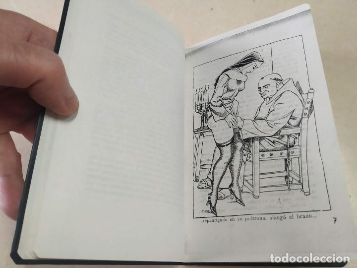 Libros antiguos: FACSÍMIL - LOS MISTERIOS DE UN CONVENTO - VÍCTOR RIPALDA - LA NOVELA SELECTA Nº 5 - Foto 3 - 206263401