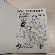 Libros antiguos: FACSÍMIL - DOS MUJERES - LUIS TORRES - LA NOVELA PARAÍSO Nº 12. Lote 206265228
