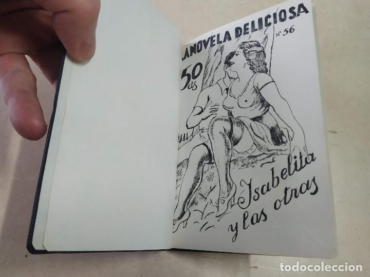 FACSÍMIL - ISABELITA Y LAS OTRAS - JULIÁN DEL SOTÓN - LA NOVELA DELICIOSA Nº 56 (Libros antiguos (hasta 1936), raros y curiosos - Literatura - Narrativa - Erótica)