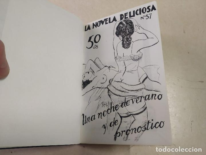 FACSÍMIL - UNA NOCHE DE VERANO Y DE PRONÓSTICO - J. BADÍA - LA NOVELA DELICIOSA Nº 57 (Libros antiguos (hasta 1936), raros y curiosos - Literatura - Narrativa - Erótica)