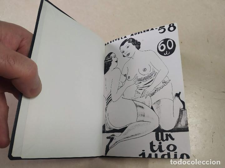 FACSÍMIL - UN TÍO JUDÍO - MUNTXO MEDINA - LA NOVELA MODERNA Nº 58 (Libros antiguos (hasta 1936), raros y curiosos - Literatura - Narrativa - Erótica)