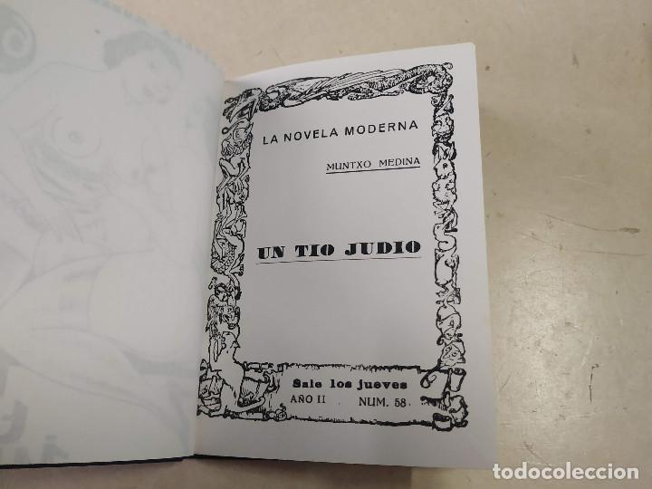 Libros antiguos: FACSÍMIL - UN TÍO JUDÍO - MUNTXO MEDINA - LA NOVELA MODERNA Nº 58 - Foto 2 - 206266761