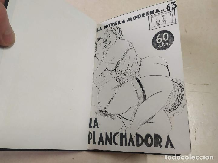 FACSÍMIL - LA PLANCHADORA - VÍCTOR TOLEDO - LA NOVELA MODERNA Nº 63 (Libros antiguos (hasta 1936), raros y curiosos - Literatura - Narrativa - Erótica)