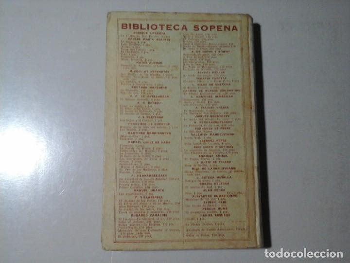Libros antiguos: JUAN (GIOVANNI) VERGA. EROS. 1ª EDICIÓN ESPAÑOLA. SOPENA. LITERATURA ITALIANA. VERISMO. BOHEMIA. - Foto 2 - 206499913