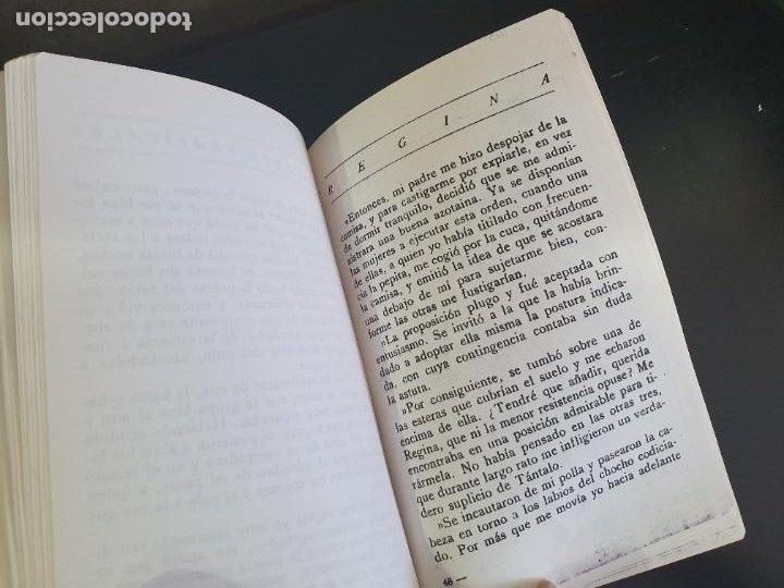 Libros antiguos: NOVELA EROTICA AÑOS 20/30. REGINA ( PLACERES TROPICALES) Reproducciones encuadernadas a mano clandes - Foto 2 - 207181502