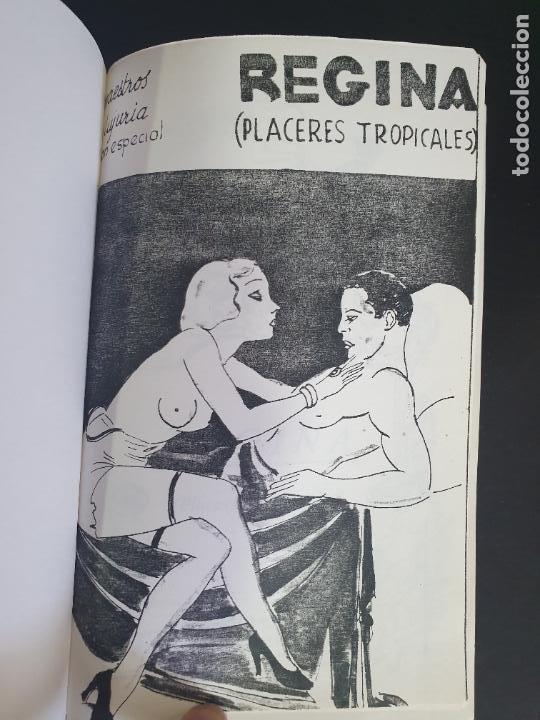 Libros antiguos: NOVELA EROTICA AÑOS 20/30. REGINA ( PLACERES TROPICALES) Reproducciones encuadernadas a mano clandes - Foto 4 - 207181502