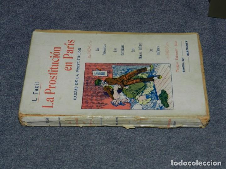 Libros antiguos: (MF) LEO TAXIL - LA PROSTITUCION CONTEMPORANEA EN PARIS, TORIBIO TABERNER EDITOR - Foto 3 - 207850941