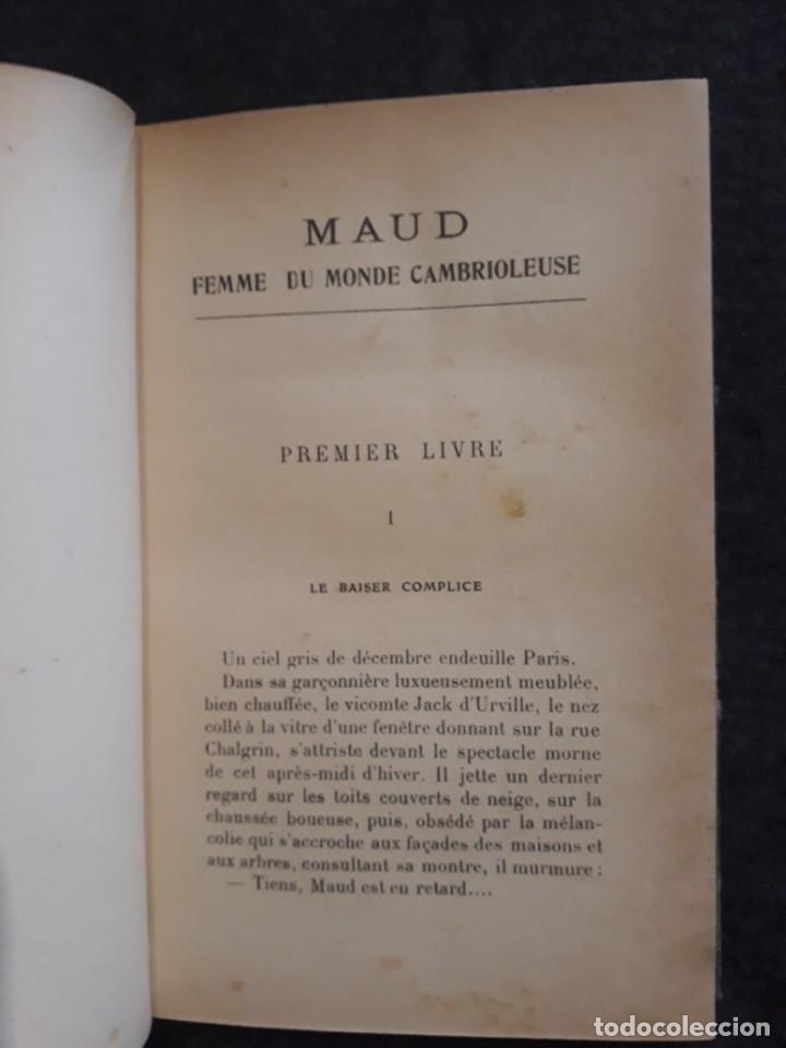 Libros antiguos: Maud. Femme du monde cambrioleuse. Antonin Reschal. C. 1900 ilustrado Kirchner, erotismo Macedonio - Foto 4 - 208069066