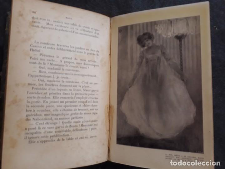 Libros antiguos: Maud. Femme du monde cambrioleuse. Antonin Reschal. C. 1900 ilustrado Kirchner, erotismo Macedonio - Foto 7 - 208069066